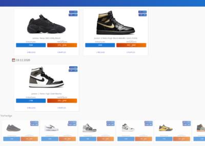 1upSneakers Release Kalender